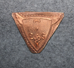 Finnish Airforce, 1943 LSN, regimental badge base plate. Old model. LAST IN STCOK