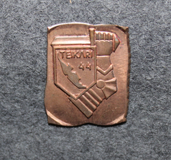 Teikari 1944, regimental badge base plate.