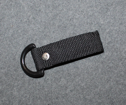 D-loop, nylon / plastic, for 50mm belt.