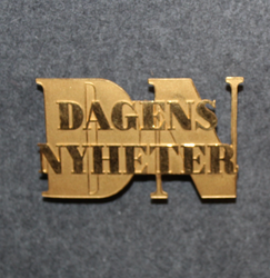 Dagens Nyheter, cap badge, Newspaper