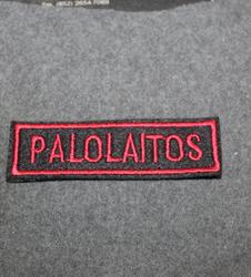 Palolaitos, brodeerattu, VPK / Sopimus / Teollisuspalokuntien värit.