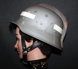 Firefighters Helmet, Finnish 1960´s model.