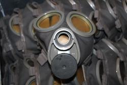 Gas Mask M/36, unissued, mint.