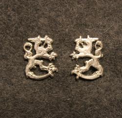 Brigade general rank insignia, Finnish Army, Pair.