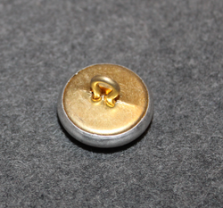 Skull button, 20mm, metal.