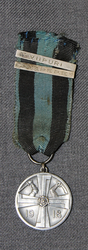 Commemorative Medal of Finnish liberation war, with 2 bars.