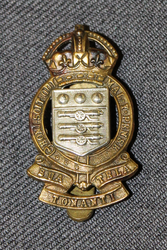 Royal Army Ordnance Corps RAOC Cap Badge