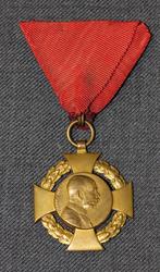 Franc Ios I 1848-1908 medal ( Jubiläums-Hofkreuz )