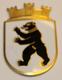 Kypärämerkki, sveitsin poliisi. Stadt St. Gallen