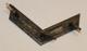 Sveitsiläinen arvomerkki 38mm hopeinen, kulmarauta.