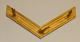 Sveitsiläinen arvomerkki 49mm kulta, kulmarauta.