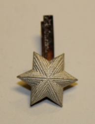 Swiss Rank insignia. Star 13mm.