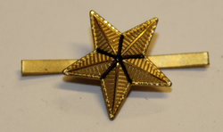 Swiss Rank insignia. Star 18mm.