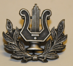 Swiss insignia. Music. Large.