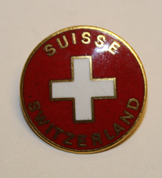 Suisse Switzerland pin.