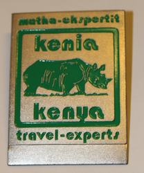 Travel Experts name tag.