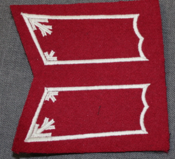 Collar tabs, General Headquarters, finnish army.