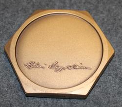 Teollisuus-Teräs Oy ( industrial steel ) medal