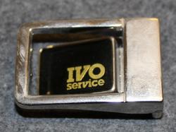 IVO Service belt buckle.