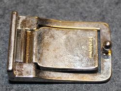 Säästöpankki ( savings bank ) belt buckle.