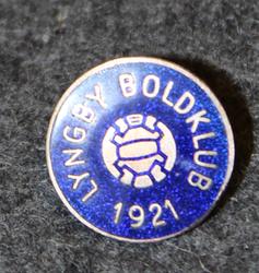 Lyngby Boldklub ( football club ) lapel pin