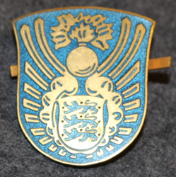 Danish fire department ( Brand- og beredskab ) cap badge