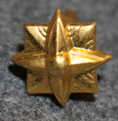 Danish rank insignia ( gradstegn ), 8 pointed star, 13,5mm