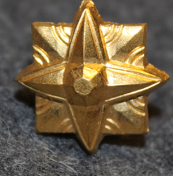 Danish rank insignia ( gradstegn ), 8 pointed star, 18 mm