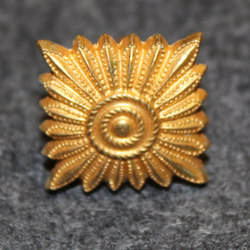 Danish rank insignia ( gradstegn ), square 17,5mm