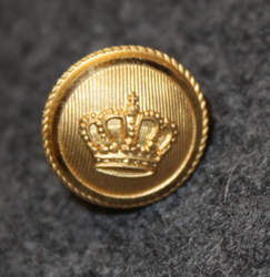 Danish rank insignia ( gradstegn ), crown on circle, 15 mm
