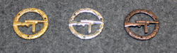 Danish qualification badge ( Udmærkelsestegn ). SMG