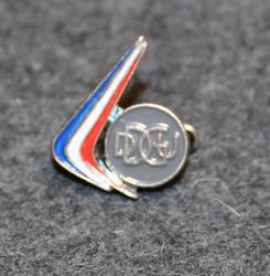 DDGU lapel pin
