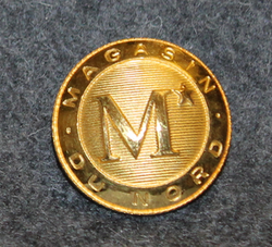 Magasin du Nord ( department store ) 23.5mm, gilt