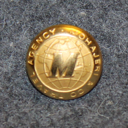 Mohajeri & Co travel agency 13.5mm, gilt
