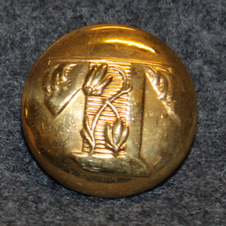 Københavns Tivoli, gilt, 24mm