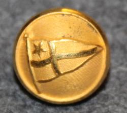 Kööpenhaminan amatööripurjehdusseura, 15mm, kullattu
