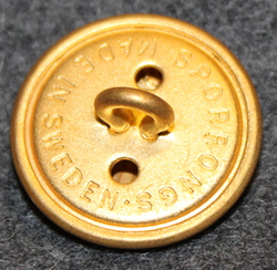 Søværnet, Royal Danish Navy, gilt, 22mm
