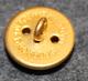 Tanskan vaakuna, kullattu, 16mm