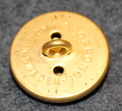 Danish marine administration, gilt, 24mm