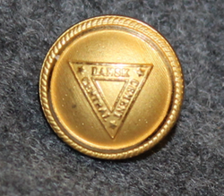 Dansk Cement Central, gilt, 13,5mm