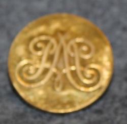 O.E. Bergström, Göteborg, kullattu, 24mm