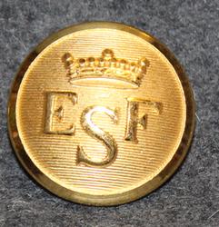 Esbo Segelförening, gilt, 23mm