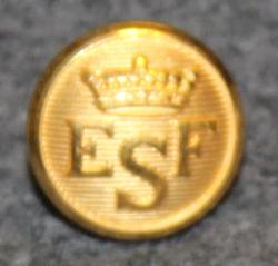 Esbo Segelförening, gilt, 13mm