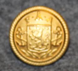Finska Ångfartygs Aktiebolag (FÅA), Finland Steamship Company,  gilt, 15mm