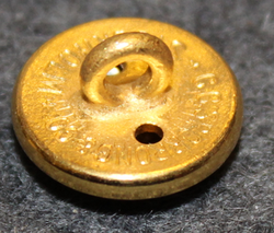 P.C. Rettig, tupakkayhtiö, kullattu, 14mm