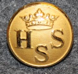 Helsingin pursiseura, kullattu, 15mm