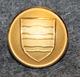 Morges, sveitsiläinen kunta, 15,5mm, kullattu