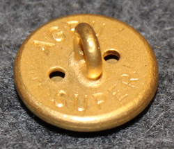 Écublens, Swiss municipality, 15mm, gilt