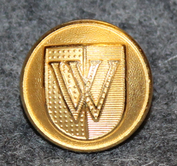 Vevey, Swiss town, 15,5mm, gilt
