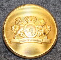 Philip Morris, tupakkayhtiö, kullattu, 21mm